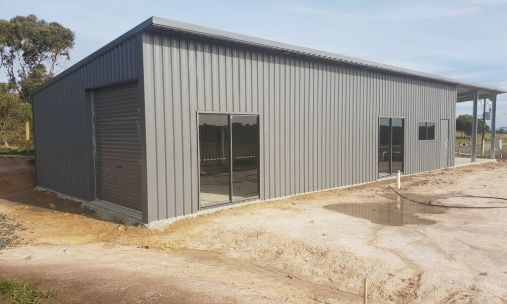Custom large shed