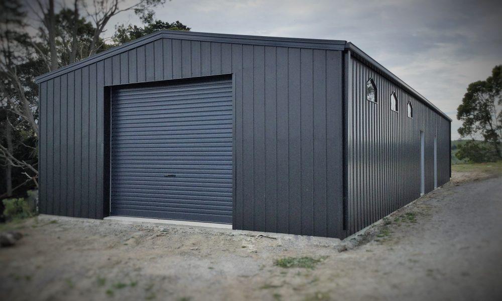 Single door shed